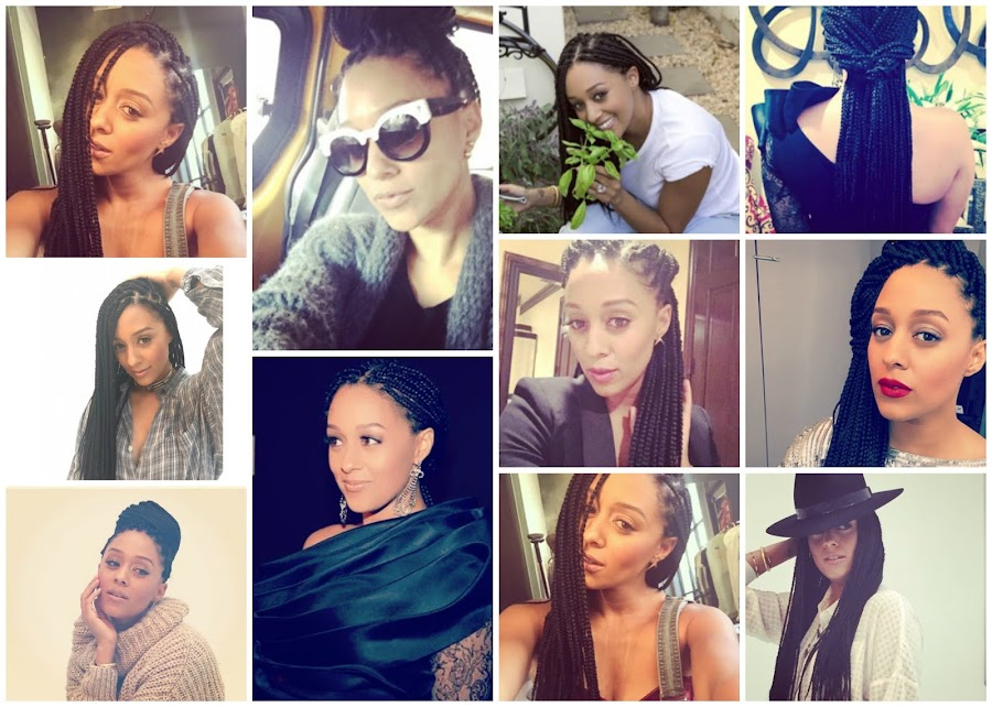 Tia Mowry Hardrict box Braids