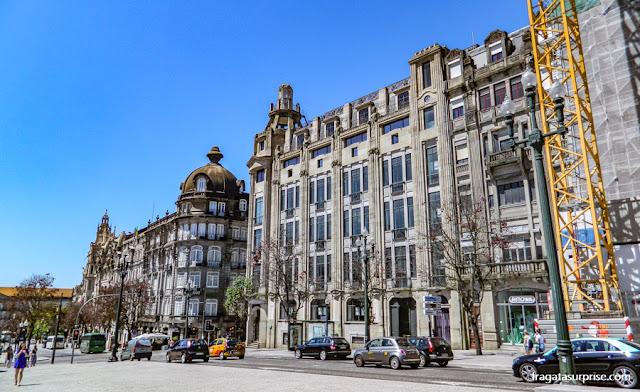 Avenida dos Aliados, Centro Antigo do Porto, Portugal