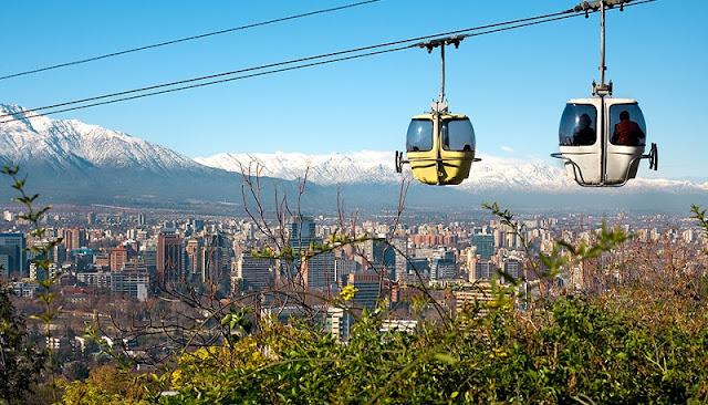 Santiago do Chile em novembro