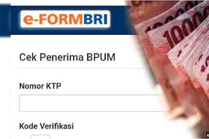CEK Penerima Bantuan UMKM 2021 Tahap 3/Tahap 2 di eform.bri.co.id/bpum/banpresbpum.id, Cara Daftar