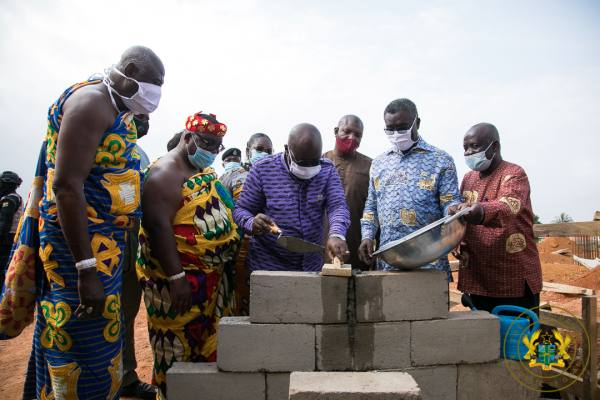 President Akufo-Addo Cuts Sod For Ghana's First Modern Foundry And Machine Tooling Centre