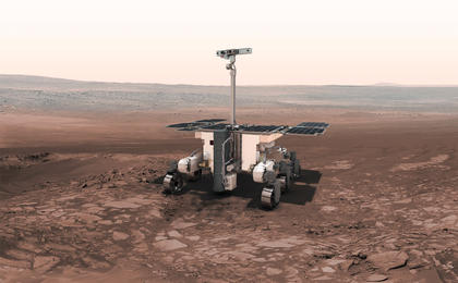 UK built ExoMars Rover that's vastly quicker than NASA's Curiosity