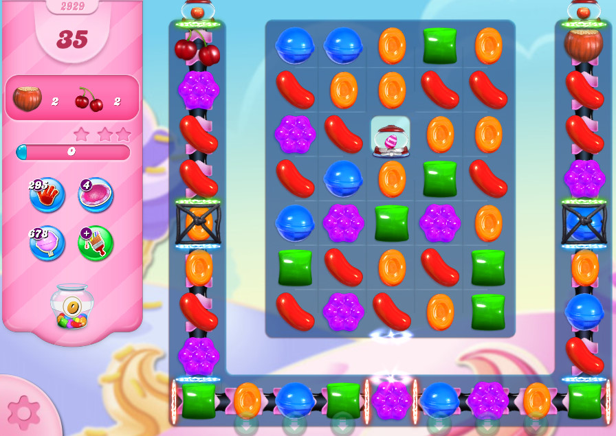 Candy Crush Saga level 2929