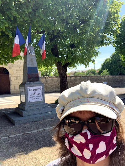 French Village Diaries the beauty of freedom, one week post confinement Victory in Europe 8th May 2021