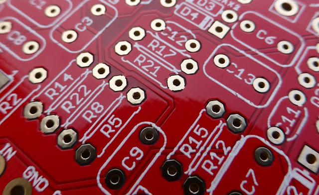 Electro harmonix Big Muff circuit board PCB
