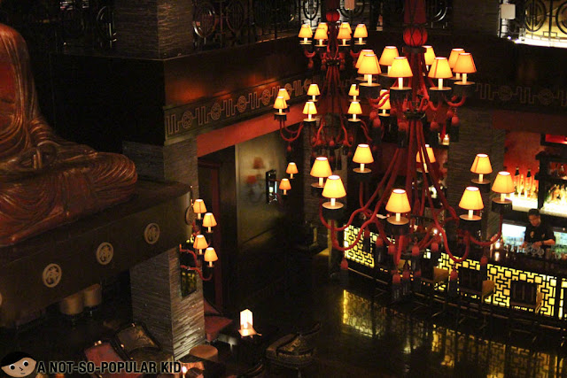 Interior of Buddha Bar