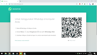 Cara Menggunakan Whataspp di laptop Windows
