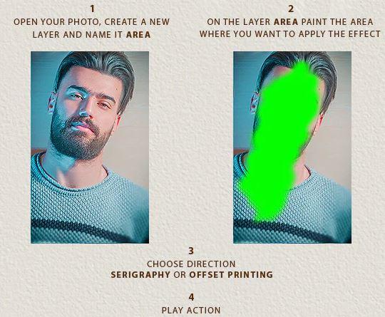Giới thiệu về Typography (Alphabetic) Photoshop Action