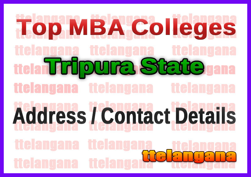 Top MBA Colleges in Tripura