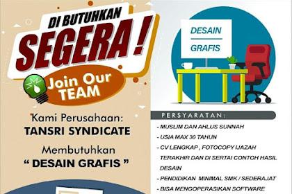 Lowongan Pekerjaan Desain Grafis di Bandung