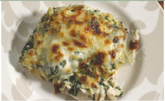 Keto Spinach Artichoke Chicken #keto #diet
