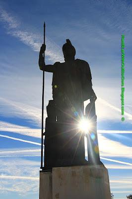 Goddess Athena statue, Cybele Palace, Círculo de Bellas Artes, Madrid, Spain