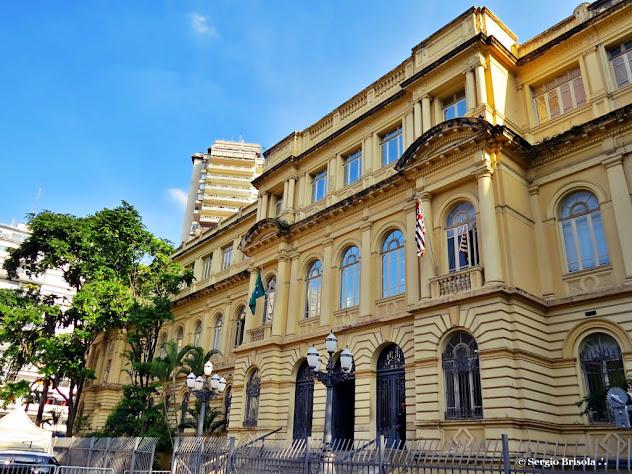Fachada da Casa Caetano de Campos - Praça da Republica - Centro - São Paulo