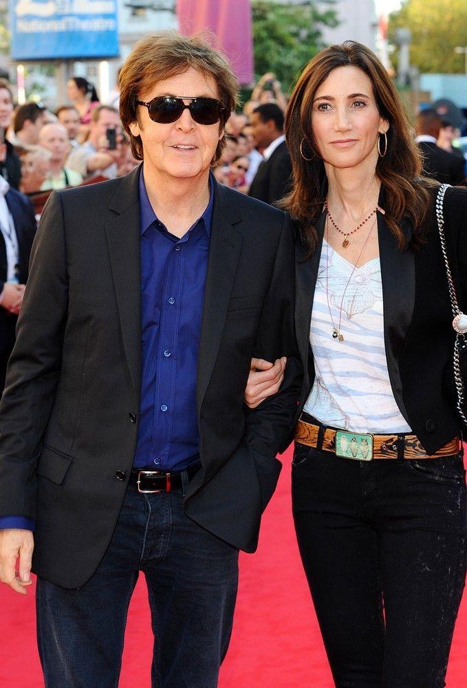 PAUL ON THE RUN: Who is Paul McCartneys wife Nancy Shevell?