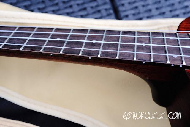 Gretsch G9110 Ukulele fingerboard