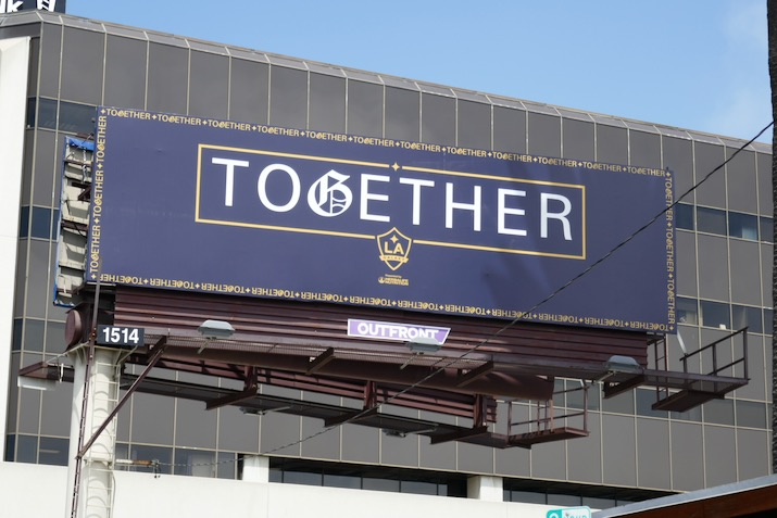 Together LA Galaxy billboard