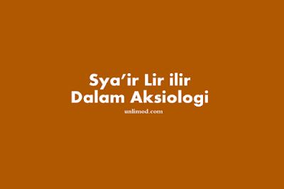 Sya'ir Lir ilir menurut pandangan Aksiologi