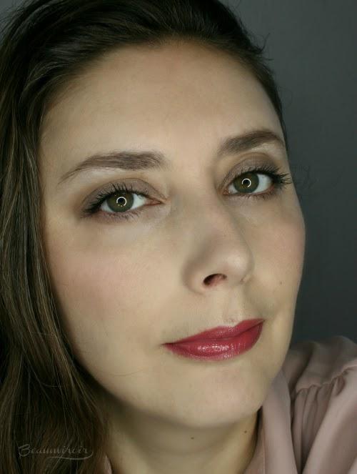 Wearing LA Pink fotd motd full face picture