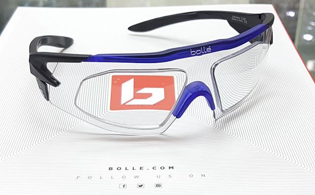 Bolle prescription trivex lens performance model