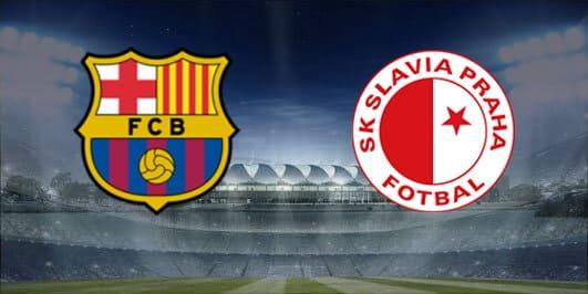 مباراة برشلونة وسلافيا براغ بتاريخ 23-10-2019 دوري أبطال أوروبا