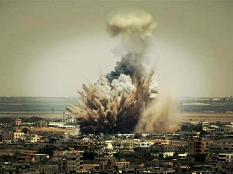 Gaza Diserang
