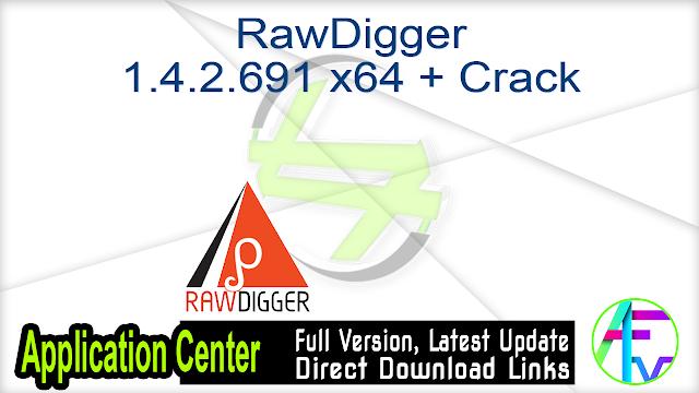 RawDigger 1.4.2.691 x64 x86 + Crack