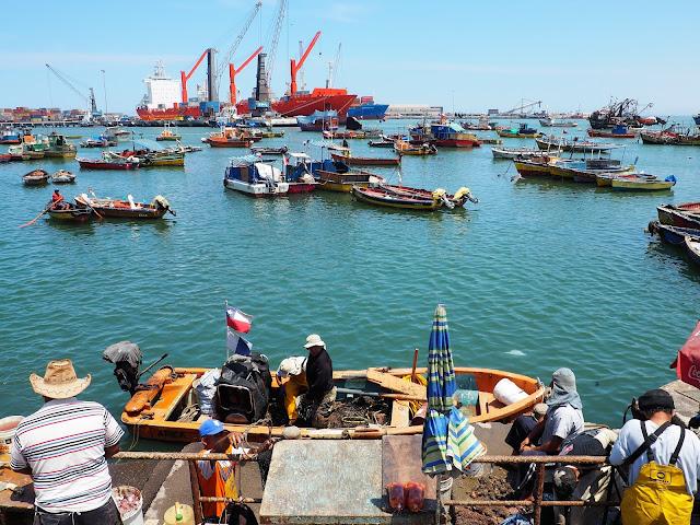 Arica Hafen Chile