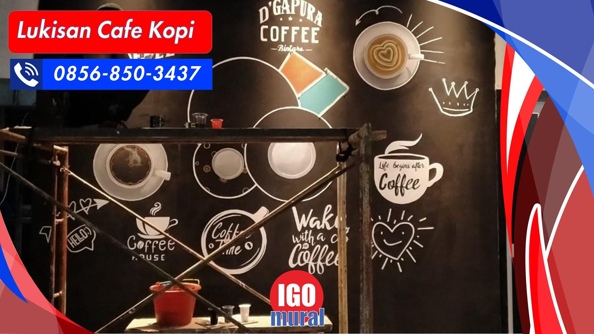 Lukisan Cafe Kopi