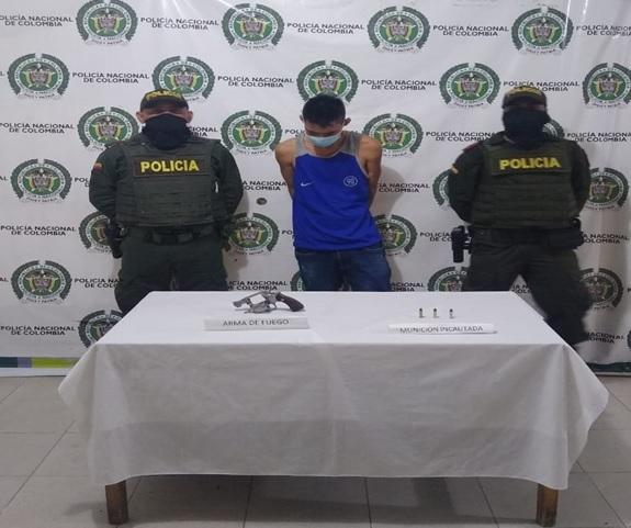 Ciento ochenta personas capturadas portando armas de fuego