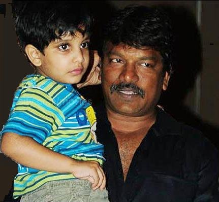 Pasupuleti Krishna Vamsi with Son
