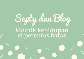 Septi Ayu Azizah dan blog serta perniknya