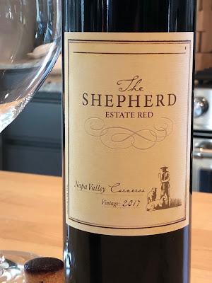 2017 The Shepherd Estate Red wine label