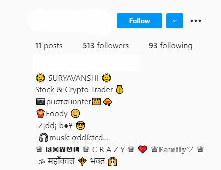 Instagram Bio for Boys in English