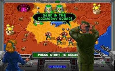 Videojuego Total Carnage - versión Arcade