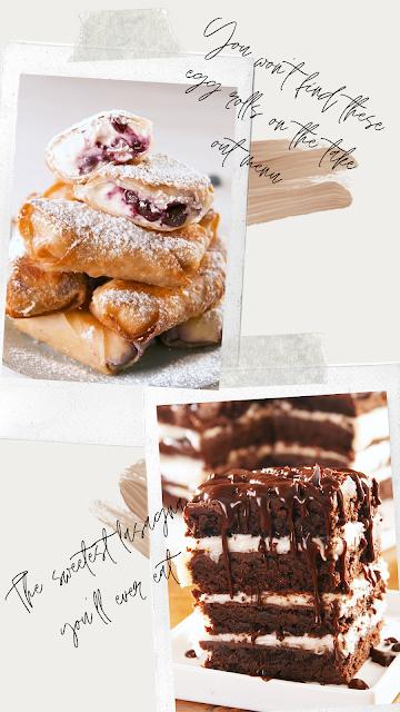 Desserts that are cake-wedding food-wedding ideas-\KMich Weddings-Philadelphia PA