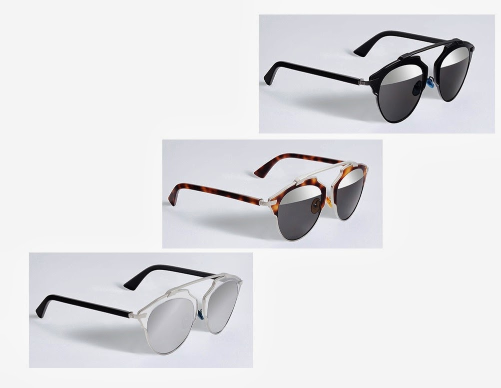 O nome da coleção é DiorSoReal. Você pode encontrar os óculos em 3 cores   preto, tartaruga e branco. Qual combina melhor com você  d135b14c15
