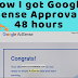How To Get Google Adsense Approval Within 48Hours