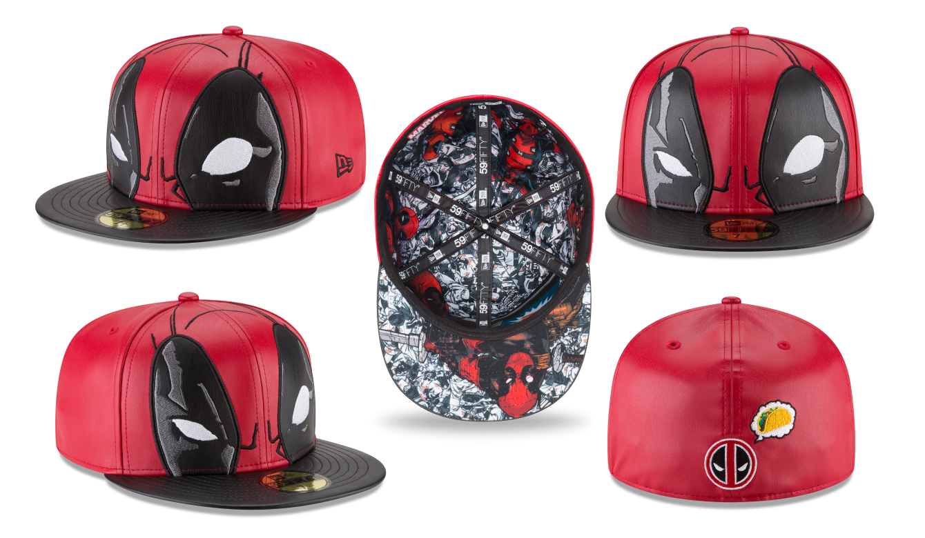 009edef6888 The Blot Says...  Deadpool 59FIFTY Fitted Hat by New Era Cap x Marvel