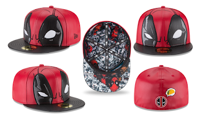New Era Cap Exclusive Deadpool 59FIFTY Marvel Fitted Hat