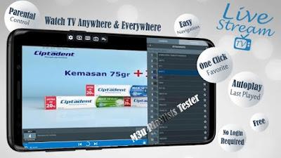 تحميل تطبيق Livestream TV - M3U Stream Player IPTV v3.3.1.5 (Pro) APK