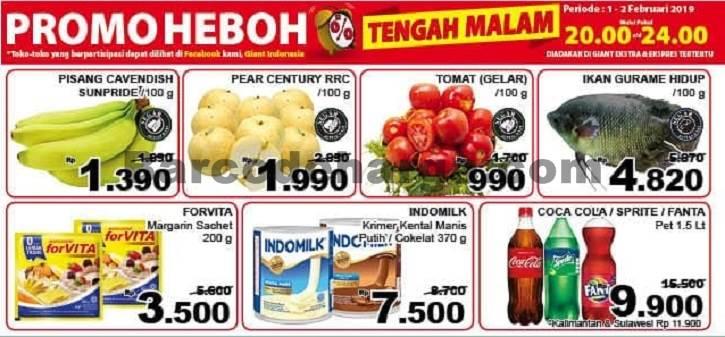 Katalog Giant Promo Heboh Tengah Malam 17 18 Juli 2020 Barcodeharga Harga Promo Alfamart Indomaret Giant Hypermart Superindo Lottemart Carrefour