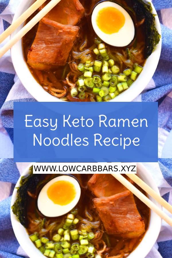 Easy Keto Ramen Noodles Recipe - Easy Keto Recipe - Keto Dinner Recipe #easyketorecipe #ketodinnerrecipe #maindish #dish #easydinnerrecipe #ramenrecipe #ramen #noodles #easynoodlesrecipe #noodlesrecipe