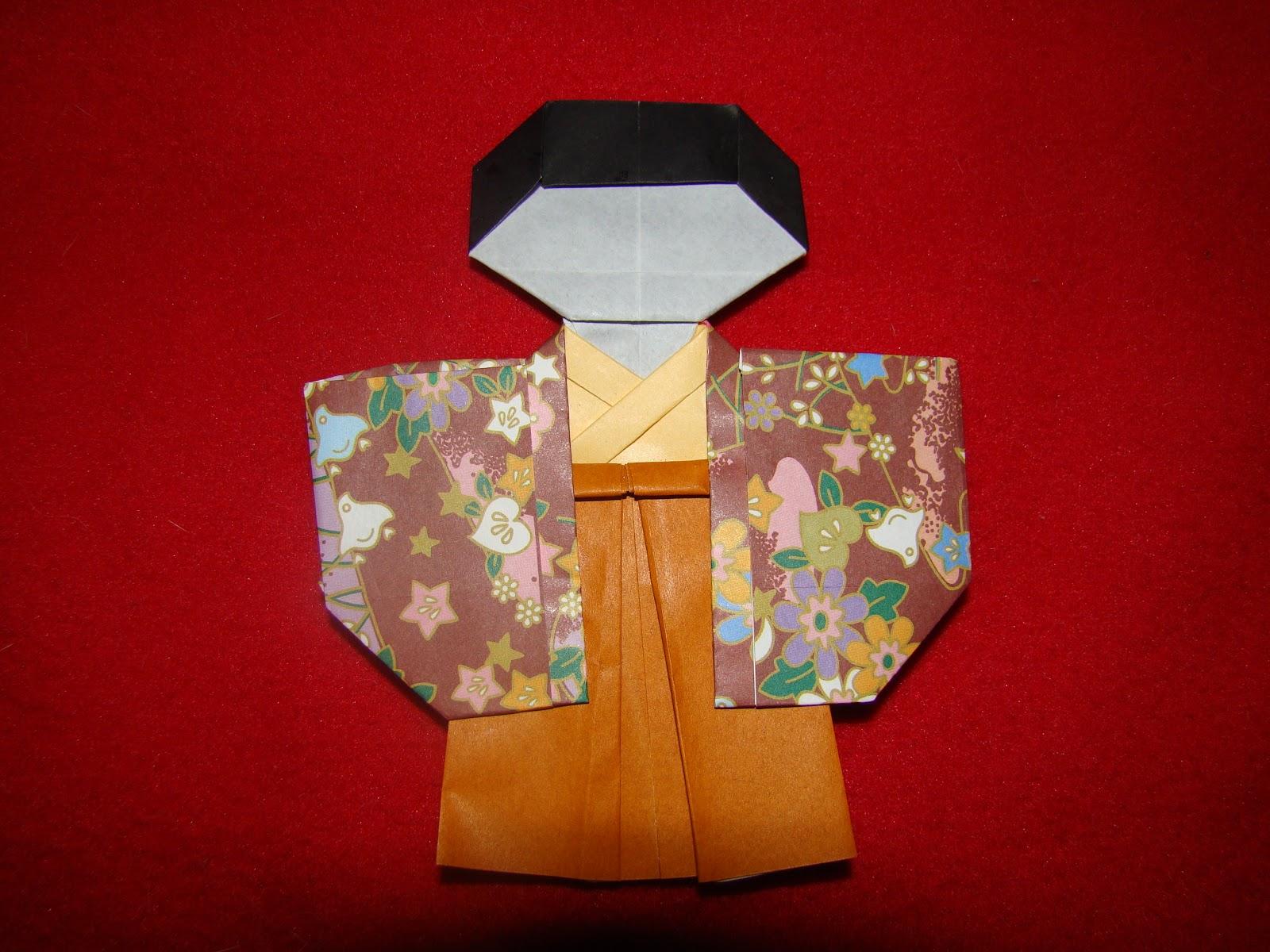 Origami Maniacs: Origami Shichi Go San Boy by Taiko Niwa - photo#8