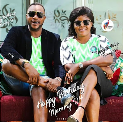 Actor Odunlade Adekola Celebrates His Wife's Birthday With Beautiful Photos