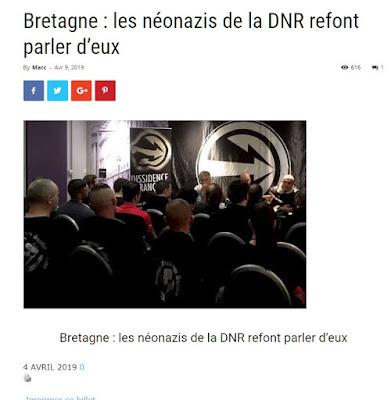 DNR,Dissidence Française, Désiré Gaudin