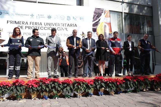 PROTECCIÓN CIVIL Y LA UNAM ORGANIZAN FERIA UNIVERSITARIA EN LA FES ARAGÓN