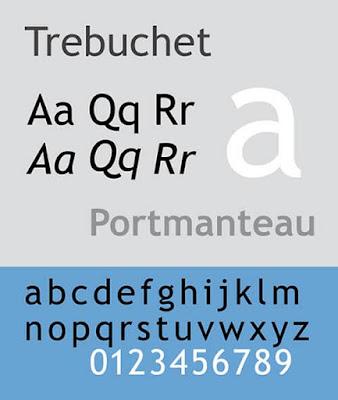 Trebuchet CV font