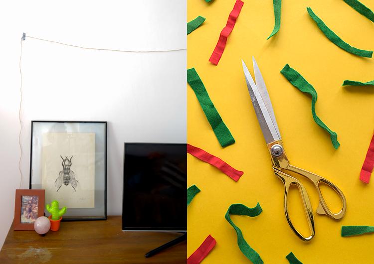 decoração barata de natal: como fazer uma guirlanda natalina! | espanta-papão