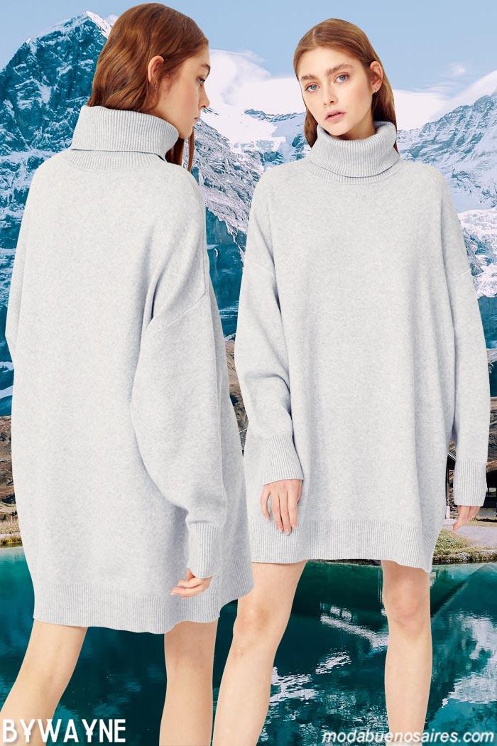 Polerones vestidos invierno 2021