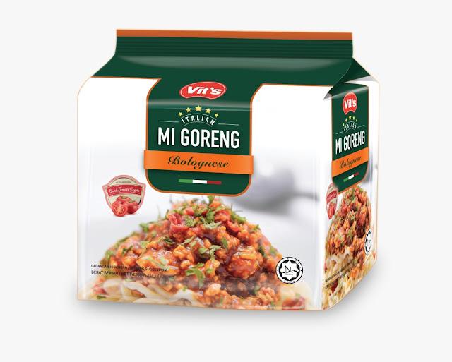 Bantuan Covid-19, Vit Makanan, Vits Noodle, Aglio Olio, Bolognese